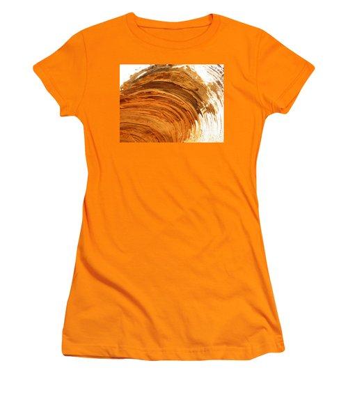 Women's T-Shirt (Junior Cut) featuring the photograph Unbroken by Brian Boyle