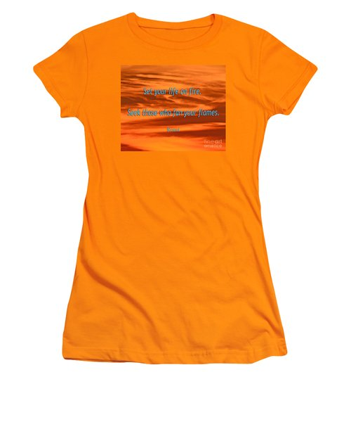 120- Rumi Women's T-Shirt (Athletic Fit)