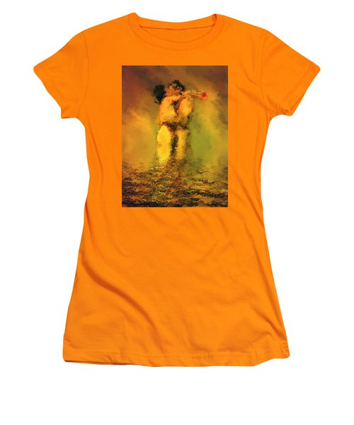 Lovers Women's T-Shirt (Junior Cut) by Kurt Van Wagner