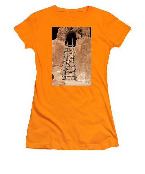 Talus House Front Door Bandelier National Monument Women's T-Shirt (Athletic Fit)
