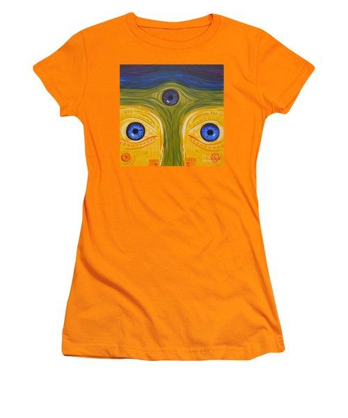 3eyes2c Women's T-Shirt (Athletic Fit)