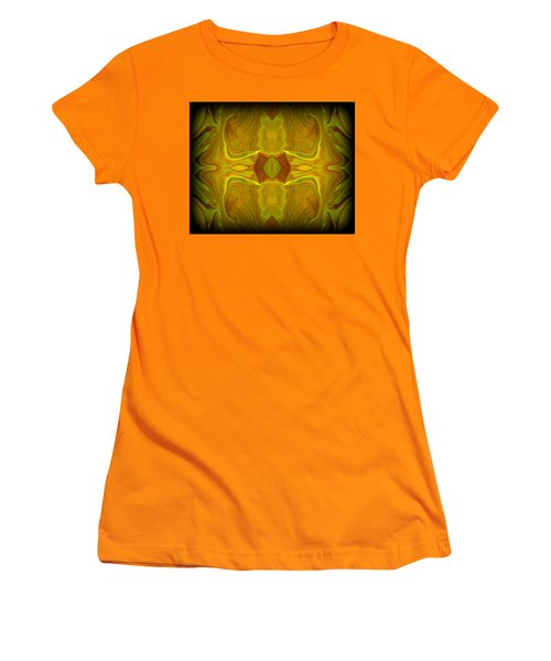 Abstract 45 Women's T-Shirt (Athletic Fit)