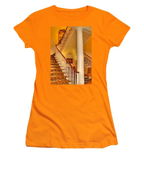 Women's T-Shirt (Junior Cut) featuring the photograph A Bit Of Southern Style by Kathy Baccari
