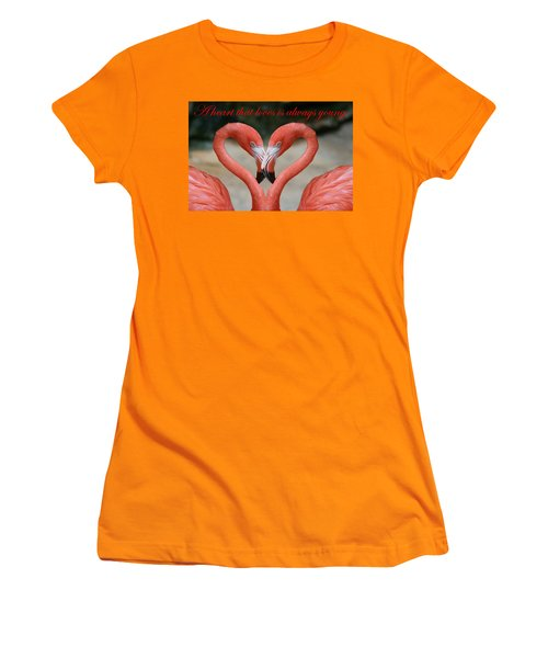 A Heart That Loves Is Always Young Women's T-Shirt (Athletic Fit)