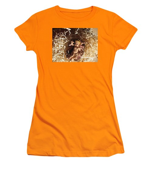 A King Is Born Women's T-Shirt (Athletic Fit)