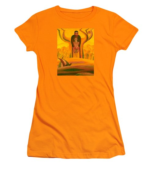 Abraham And Isaac Women's T-Shirt (Athletic Fit)