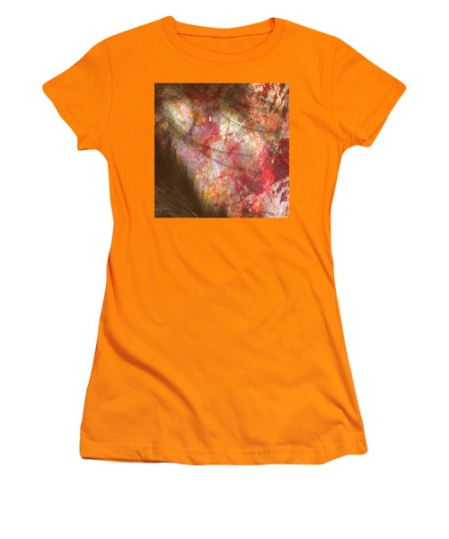 Abstract Pillow Women's T-Shirt (Athletic Fit)