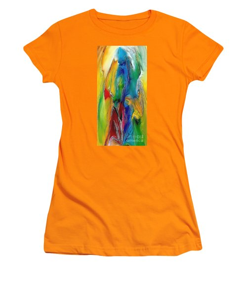 Abstraction 591-11-13 Marucii Women's T-Shirt (Athletic Fit)
