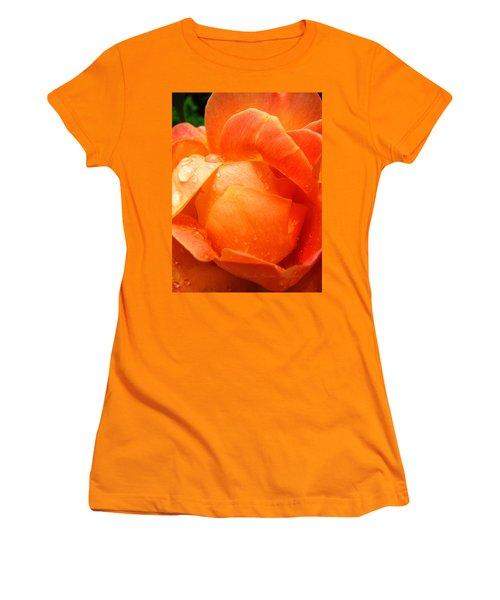 Women's T-Shirt (Junior Cut) featuring the photograph After The Rain by Brooks Garten Hauschild