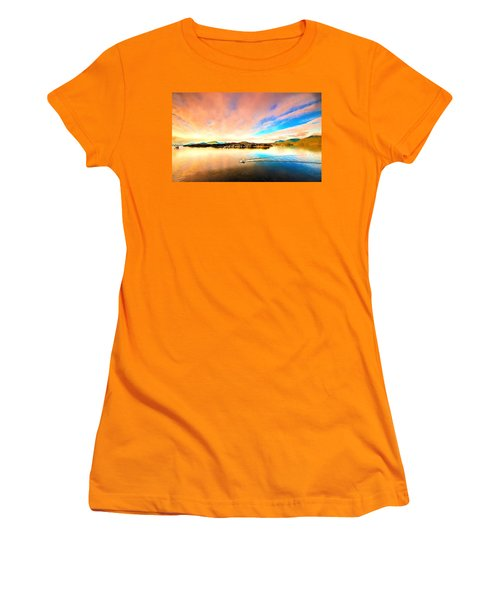 Alaska Women's T-Shirt (Junior Cut) by Bill Howard