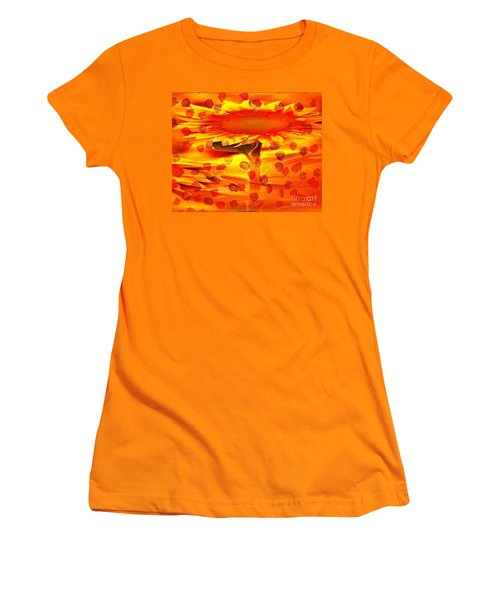 Always Turn Your Head Towards The Sun Women's T-Shirt (Athletic Fit)