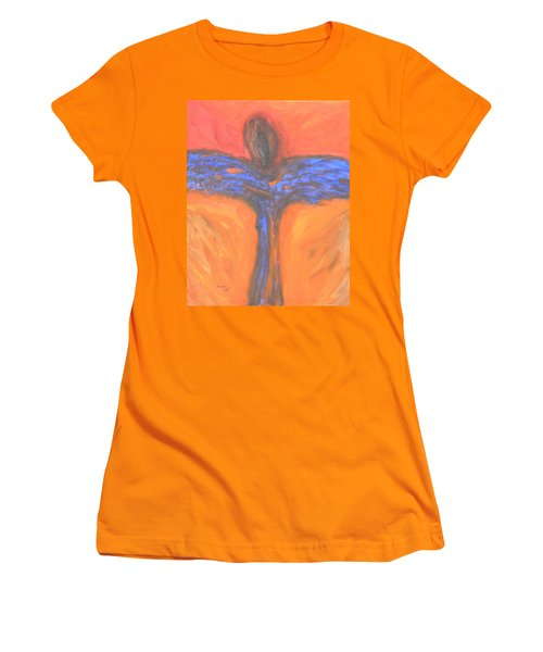 Angel Impression 1 Women's T-Shirt (Athletic Fit)