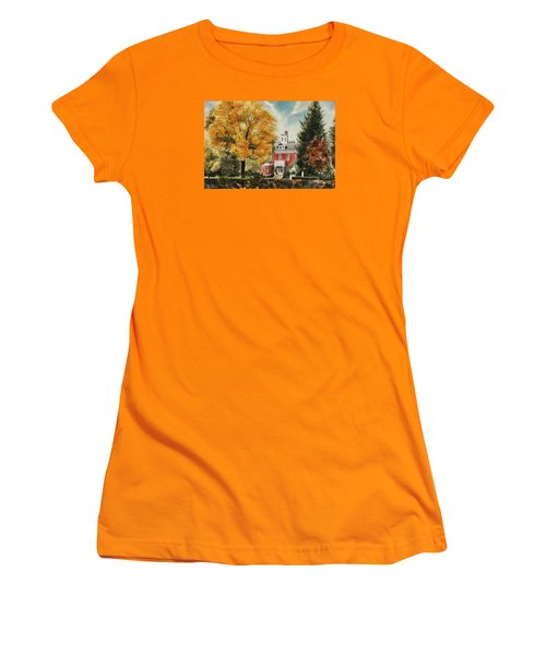 Antebellum Autumn Ironton Missouri Women's T-Shirt (Athletic Fit)