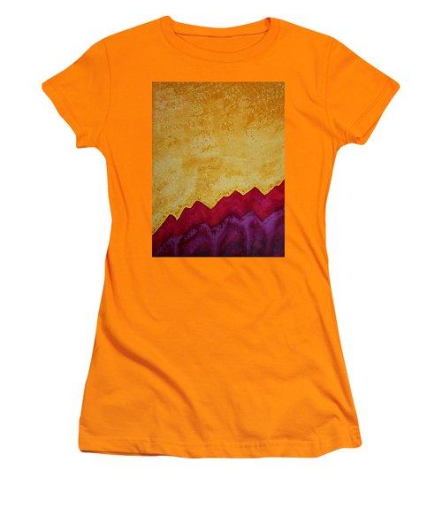 Ascension Original Painting Women's T-Shirt (Junior Cut) by Sol Luckman