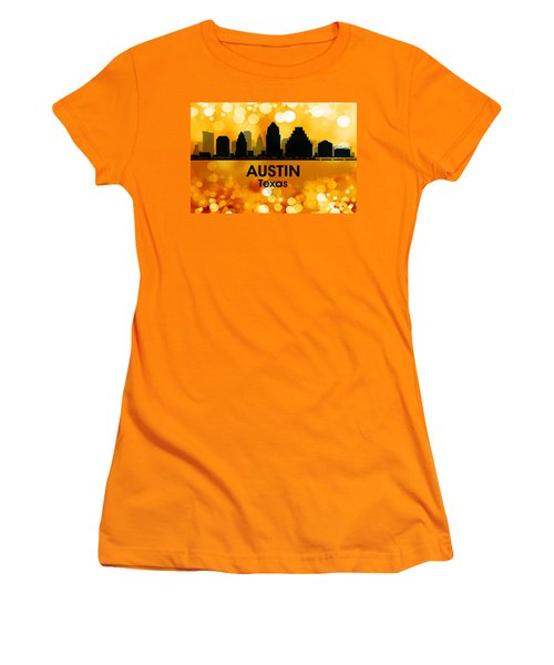 Austin Tx 3 Women's T-Shirt (Athletic Fit)