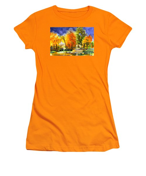 Autumn Gold 2 Women's T-Shirt (Junior Cut) by Kip DeVore