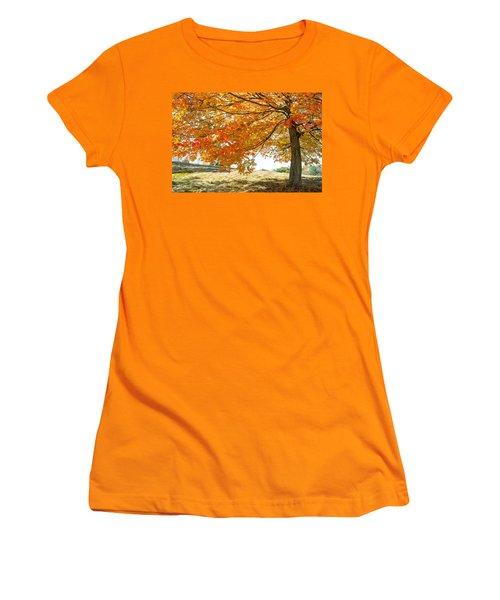 Autumn Tree - 2 Women's T-Shirt (Athletic Fit)