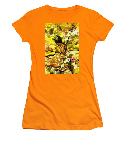 Autumn's Bones Women's T-Shirt (Junior Cut) by Richard Thomas