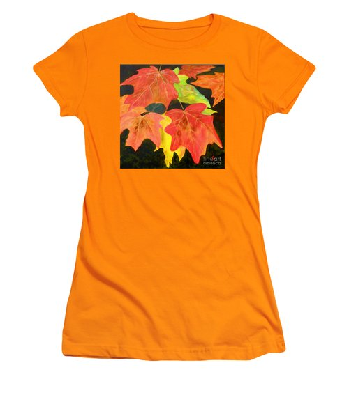 Autumn's Glow  Women's T-Shirt (Athletic Fit)