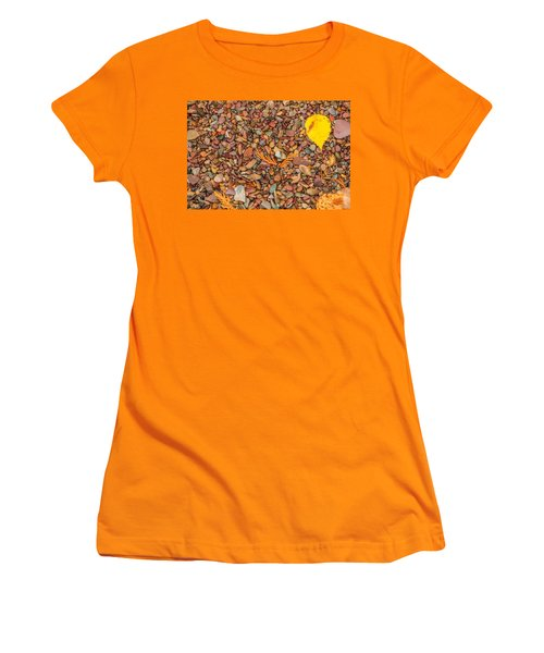 Beach Pebbles Of Montana Women's T-Shirt (Athletic Fit)