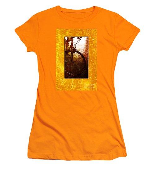 Bicycle  Women's T-Shirt (Junior Cut) by Randi Grace Nilsberg