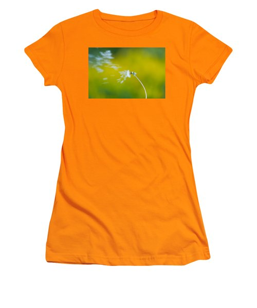 Women's T-Shirt (Athletic Fit) featuring the photograph Blown Away by Sebastian Musial