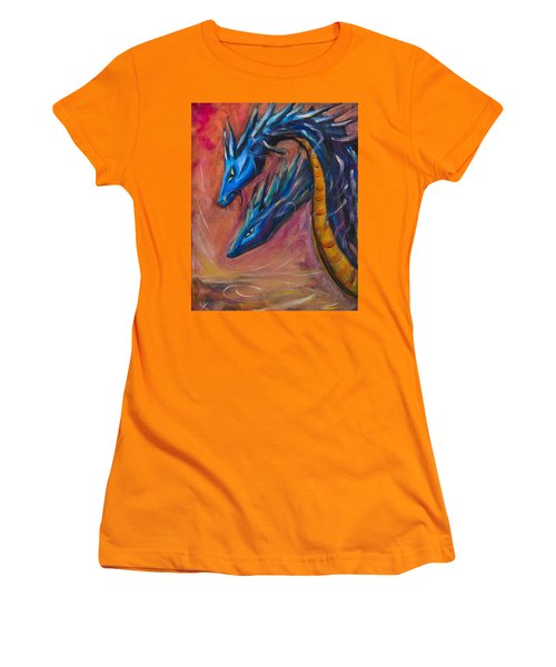 Blue Dragons Women's T-Shirt (Athletic Fit)