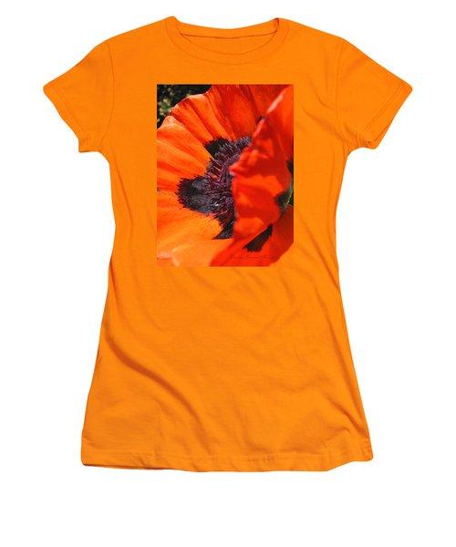 Women's T-Shirt (Junior Cut) featuring the photograph Both Sides Now by Brooks Garten Hauschild