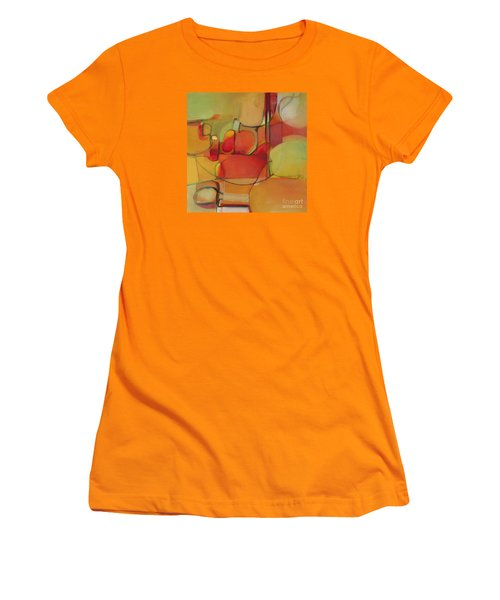 Bowl Of Fruit Women's T-Shirt (Junior Cut) by Michelle Abrams