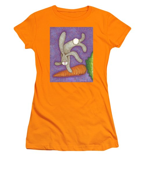 Bunny Bliss Women's T-Shirt (Athletic Fit)