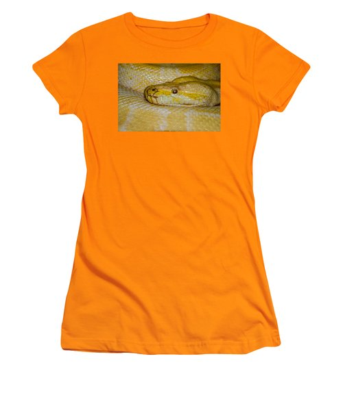 Burmese Python Women's T-Shirt (Athletic Fit)