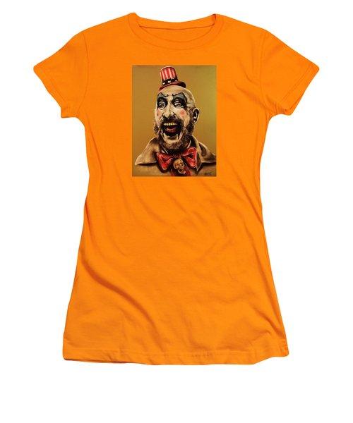 Captain Spalding Women's T-Shirt (Athletic Fit)