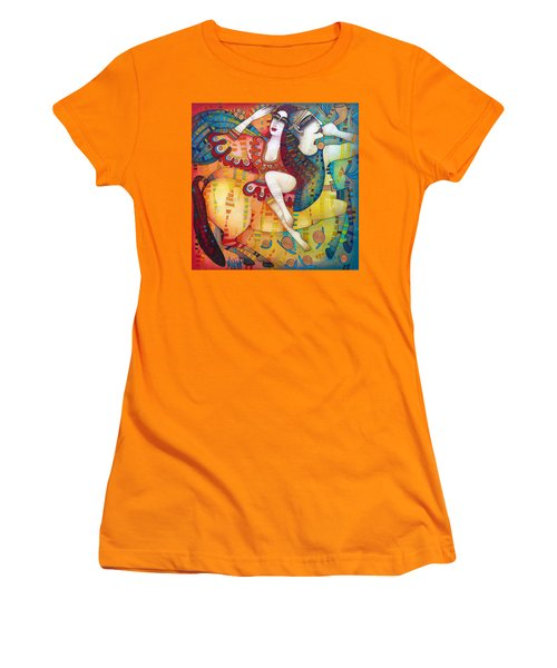 Centaur In Love Women's T-Shirt (Athletic Fit)