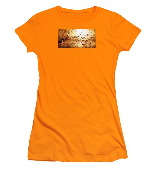 Cerezo Iv Women's T-Shirt (Junior Cut) by Angel Ortiz