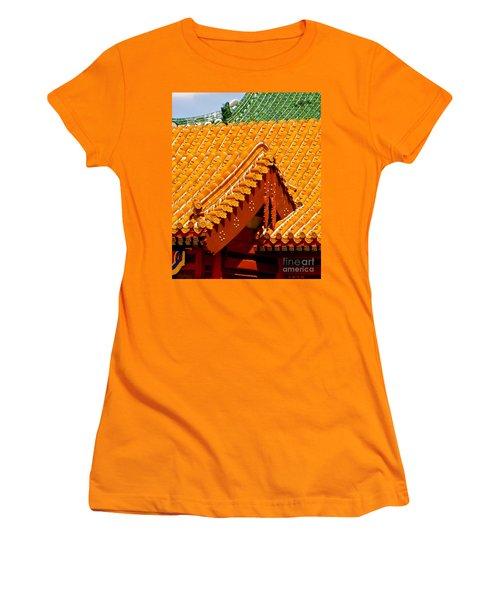 China Pavilion Women's T-Shirt (Athletic Fit)