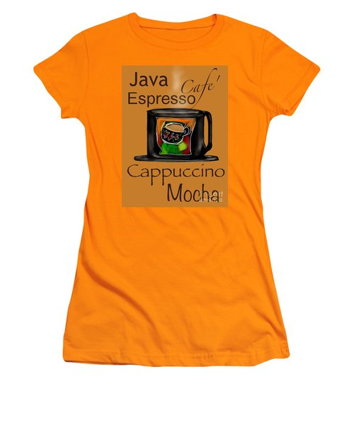 Coffee Break Women's T-Shirt (Junior Cut) by Christine Fournier