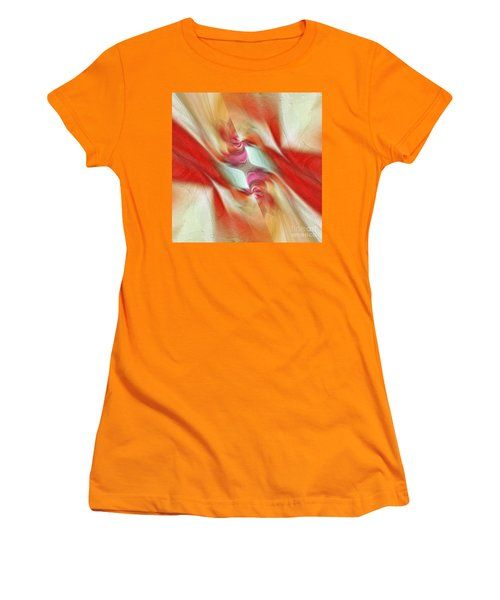 Women's T-Shirt (Junior Cut) featuring the digital art Comfort by Margie Chapman