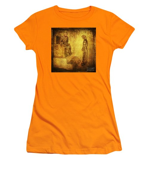 Condemned Via Dolorosa1 Women's T-Shirt (Junior Cut) by Lianne Schneider