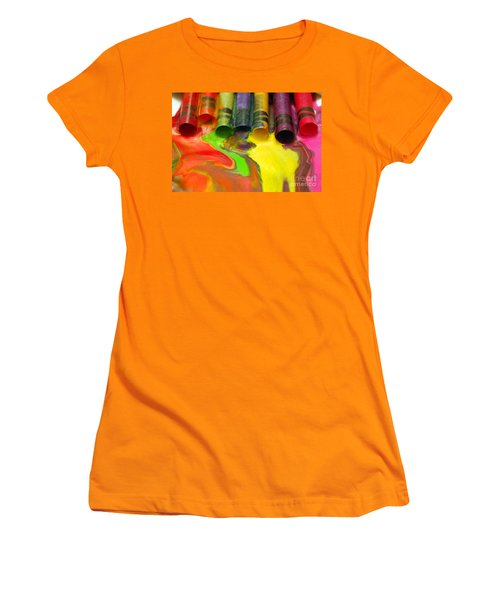 Crayon Cooperation Women's T-Shirt (Athletic Fit)