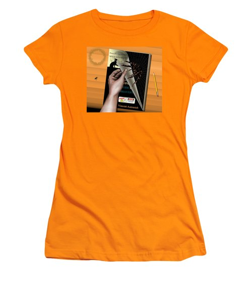 Helping Hand Women's T-Shirt (Athletic Fit)