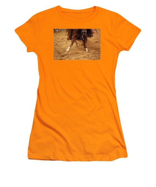 Cutting Horse 6 Women's T-Shirt (Athletic Fit)