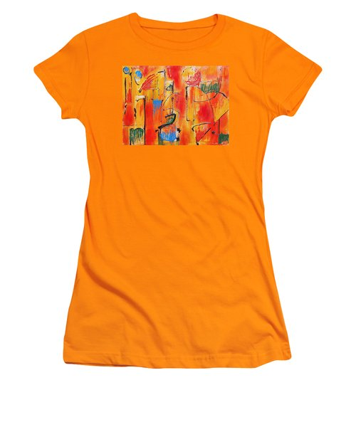 Dancing In The Heat Women's T-Shirt (Junior Cut) by Jason Williamson