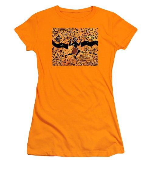 Dancing Man - Study No. 1 Women's T-Shirt (Athletic Fit)