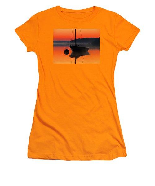 Women's T-Shirt (Junior Cut) featuring the photograph Dawn's Light by Dianne Cowen