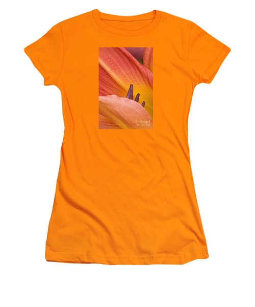 Day Lily  1 Women's T-Shirt (Athletic Fit)