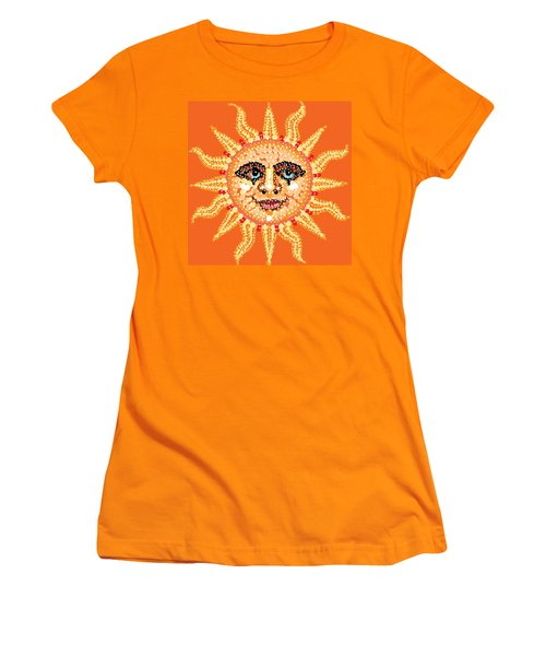 Dazzling Sun Women's T-Shirt (Athletic Fit)