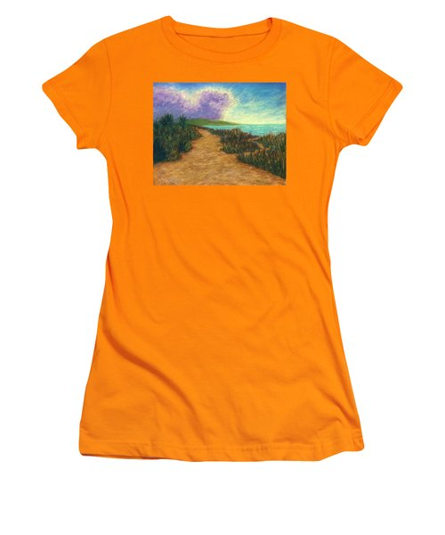 Del Mar Trails 02 Women's T-Shirt (Athletic Fit)