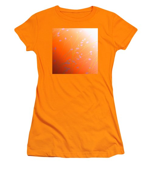 Desert Flowers Women's T-Shirt (Junior Cut) by Holly Kempe