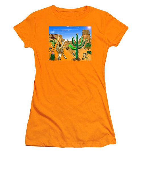 Desert Hands Women's T-Shirt (Athletic Fit)