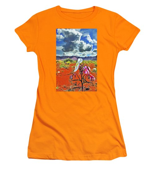 Desert Primrose 3 Women's T-Shirt (Junior Cut) by William Horden